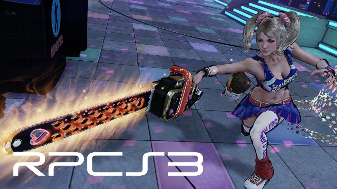 RPCS3 Emulator Can Now Play Lollipop Chainsaw