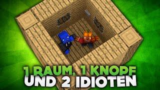 1 RAUM, 1 KNOPF und 2 IDIOTEN! | DieBuddiesZocken
