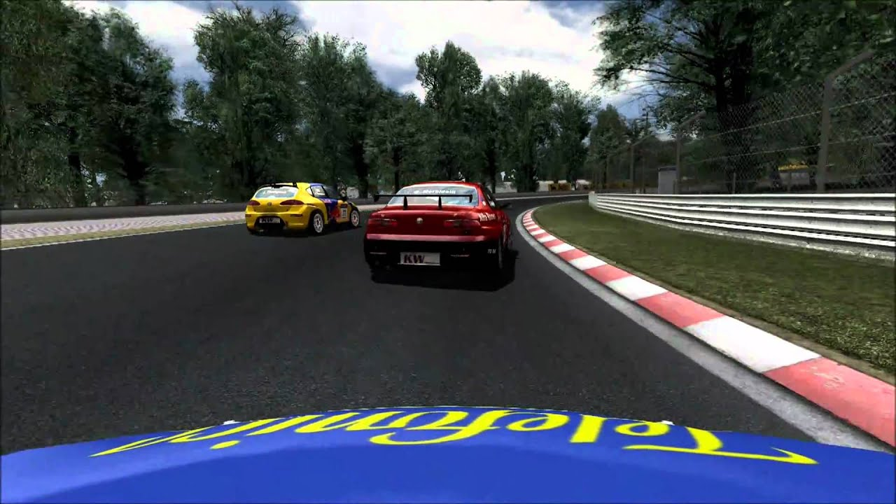 GTR2 - World Touring Cars Mod - TRM Racing Leagues testing. - YouTube