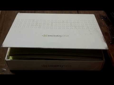 Ancestry DNA Kit Opening