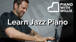 Learn Jazz Piano Today - Rich Piano Chords, Bass Line & Improvisation Using a 12-Bar Blues
