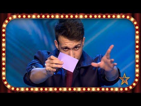 Este MAGO hace a EDURNE una foto que recordará TODA LA VIDA | Inéditos | Got Talent España 2019