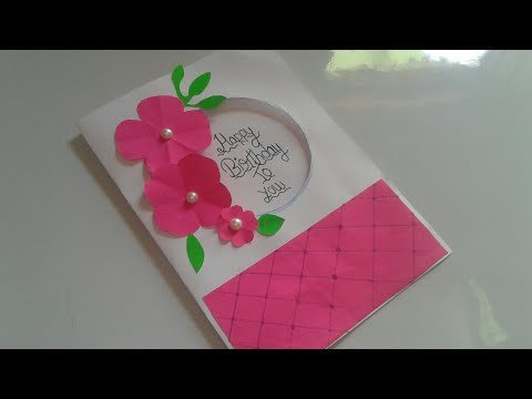 how to make simple greeting card for boyfriend || how to prepare greeting card for boyfriend