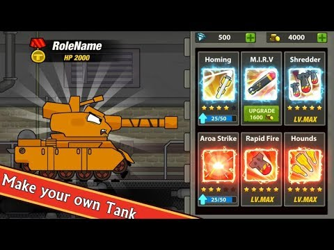 Tank Heroes - Tank Games Android Gameplay