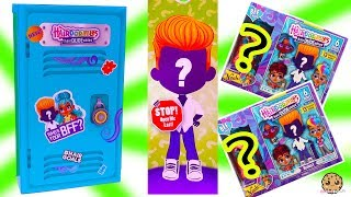 Giant School Locker of BFF HairDUDEables Hairdorables Surprise Boys Fashion Doll Video