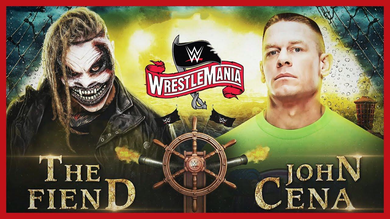 "Download Full Match John Cena vs. ""The Fiend"" Bray Wyatt (Firefly Fun House Match) #WrestleMania36 (WWE 2K20)"