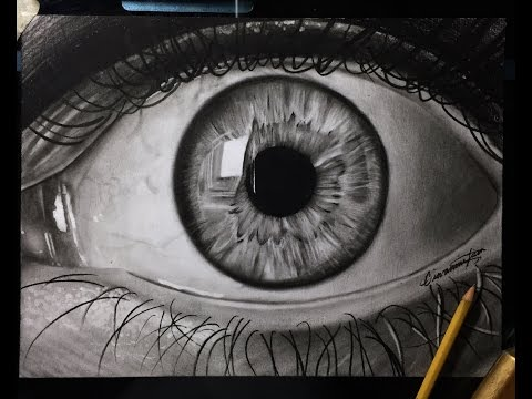 How to Draw a Realistic Eye! BEST tutorial – Step by Step