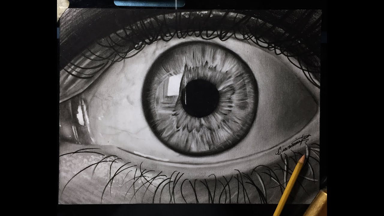 How To Draw A Realistic Eye! BEST Tutorial