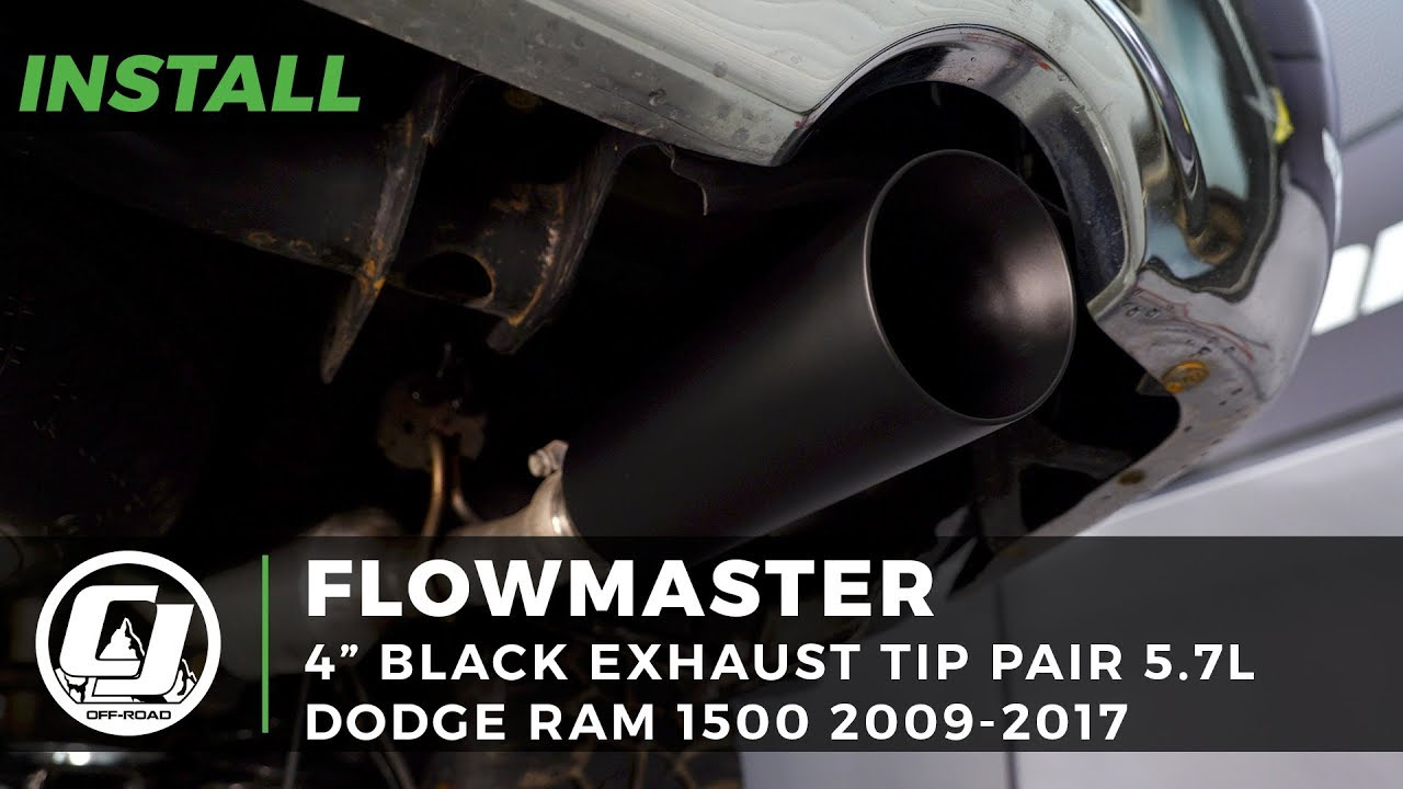 Flowmaster Ram Exhaust Tip 4