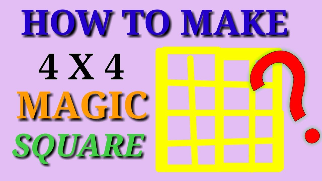How to make a magic square in java