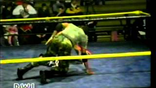 Sgt. Nelson Vs The Midnight Rocker (PWI TV)