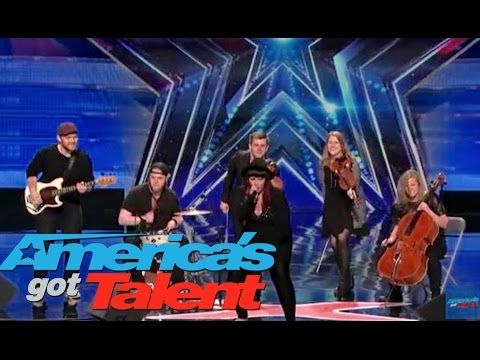 America's Got Talent // Stacey Kay The Canadian!