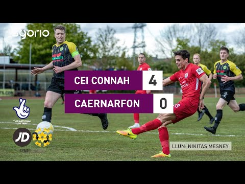 Connahs Q. Caernarfon Goals And Highlights