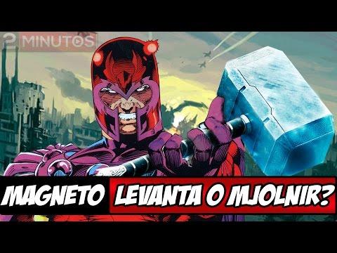 O Magneto levanta o martelo do Thor (Mjolnir)?
