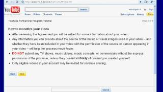 Video 005: How to Monetize YouTube Videos