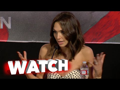 Batman v Superman: Dawn of Justice: Gal Gadot on her Daughter & TV Show Press Conference