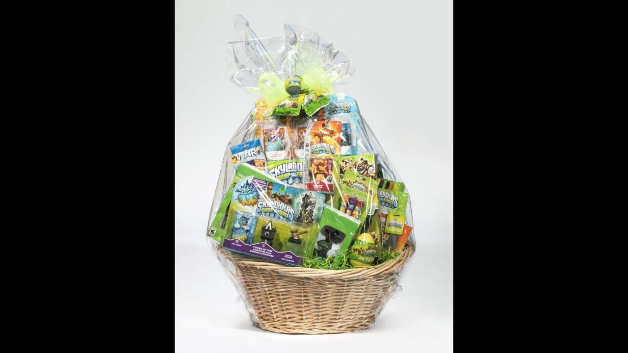 The winner of the skylanders easter basket is youtube negle Images