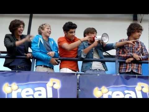 One Direction Radio Tour- Real Radio Manchester