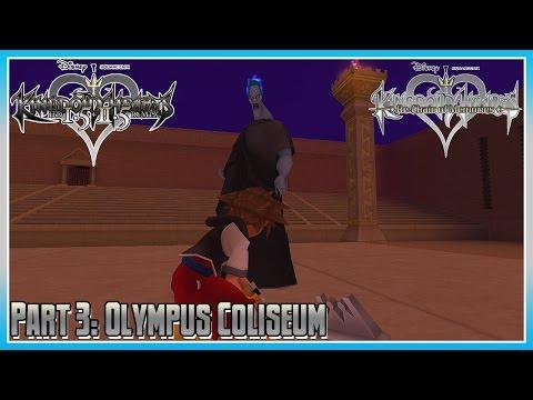 Kingdom Hearts HD 1.5 + 2.5 Remix - KH Re: CoM - Part 3: Olympus Coliseum - 동영상