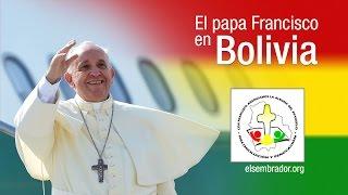 Llegada del papa Francisco a Bolivia - Bienvenida - EN VIVO