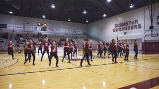 Mac Dance at McMaster Basketball Halftime Performance