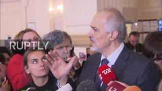 Kazakhstan  Jaafari says Syrian govt  wouldn't have come without Russia as guarantor