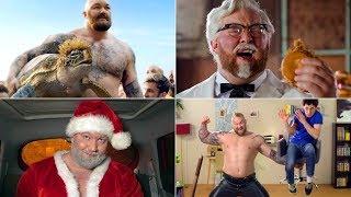 Best of Thor Bjornsson The Mountain From Game Of Thrones Funny Commercials