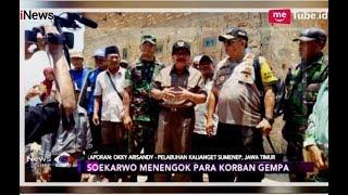 Pakde Karwo Tinjau Lokasi Terdampak Gempa di Pulau Sapudi - iNews Sore 11/10
