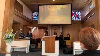 Pastor Appreciation Service | Servicio de agradecimiento al pastor