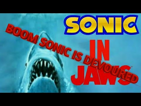 sonic in jaws: boom sonic is devoured