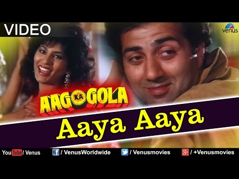 Aaya Aaya Song Lyrics Aag Ka Gola