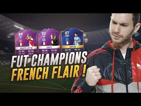 FIFA 17 - FUT CHAMPIONS - THE FRENCH FLAIR !