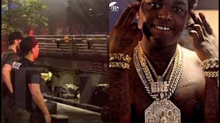 FBI Agents Rush Kodak Black Show In DC Kodak Flee Scene T.I Snitching??..DA PRODUCT DVD