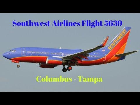 Southwest Airlines Trip Report: Flight 5639 (Columbus - Tampa)