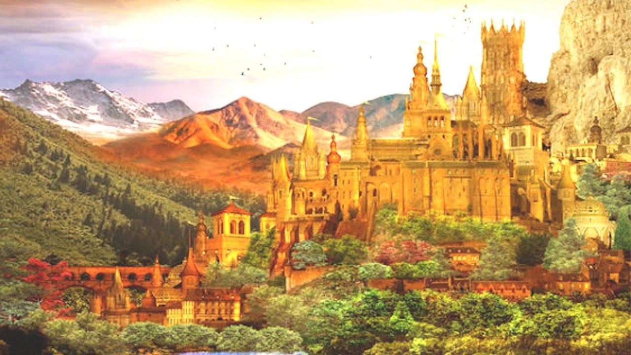 El Dorado Stadt Aus Gold