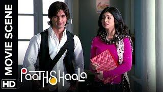 Ayesha and Shahid's friendship   Paathshaala   Movie Scene