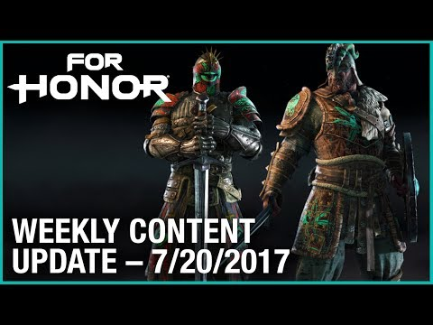 For Honor: Week 7/20/2017 | Weekly Content Update | Ubisoft [US]