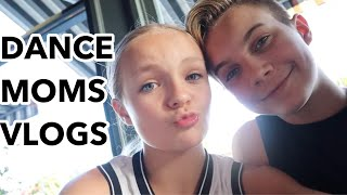 A DAY IN THE LIFE OF PRESSLEY AND BRADY!!! / Dance Moms vlogs / Pressley Hosbach