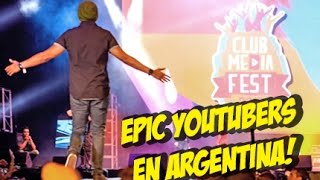 EPIC Youtubers en ClubMediaFest! #whatdafaqshow