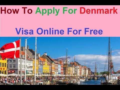 Denmark Visa Application Form Online