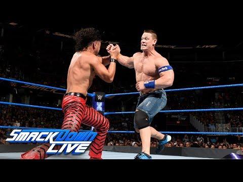 John Cena vs. Shinsuke Nakamura: SmackDown LIVE, Aug. 1, 2017