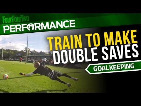 Goalkeeper training drill | Shot-stopping exercise | Swansea City Academy