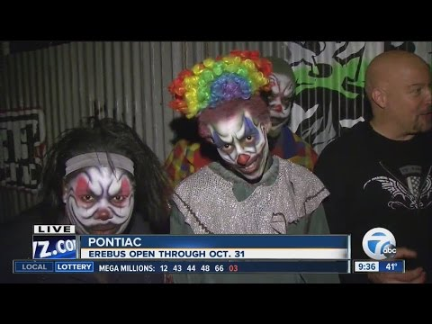 Erebus Haunted Attraction scaring up Halloween fun in Pontiac