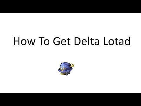 Pokemon Insurgence: How to get Delta Lotad