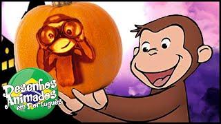 George O Curioso Dia das Bruxas - Afunda os Piratas  Halloween   O MacacoDesenhos Animados