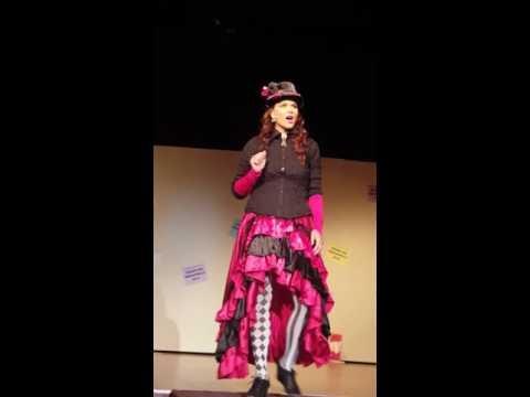 The Mad Hatter Wonderland the  Musical Jodi Villarreal