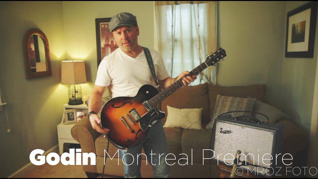 godin montreal premiere guitar review pete mroz youtube. Black Bedroom Furniture Sets. Home Design Ideas