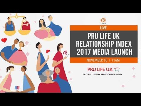 LIVE: Pru Life UK Relationship Index 2017 Media Launch