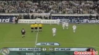 vuclip Highlights Real Madrid 3-1 AC Milan - 12/3/2003