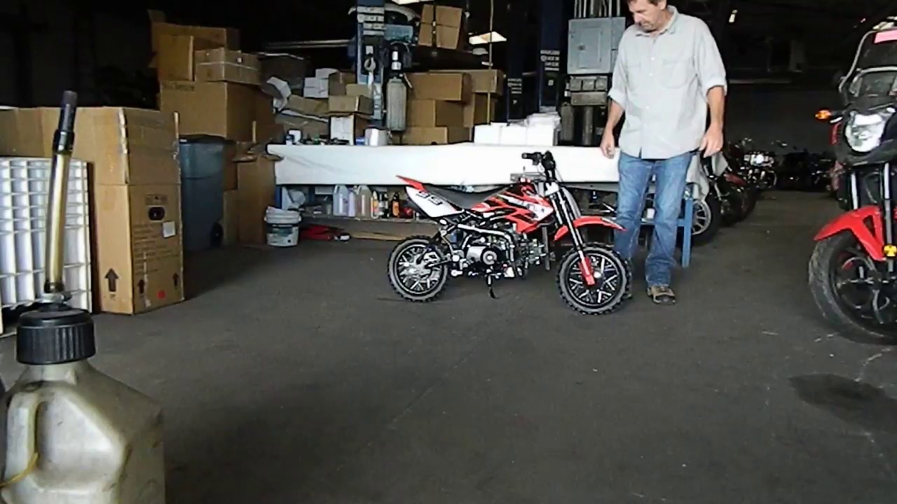Kids Pit Bike And Mini Dirt Bike Youtube Of The 70cc Coolster Qg